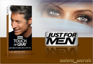 Just For Men - Touch of Grey  Ciemny Brąz T-45 odsiwiacz , szampon , 40ml