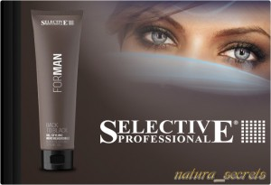 Żel Maskujące Siwe Włosy 150ml Selective Professional Back to Black
