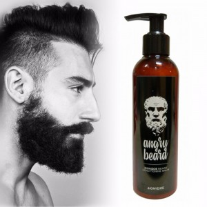 ANGRY BEARD Dionizos naturalny balsam do brody 200 ml